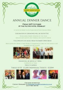 Annual Dinner Dance at the Hilton Hotel Wembley